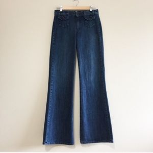 Lucky Brand Park Ave High Rise Flare Jeans